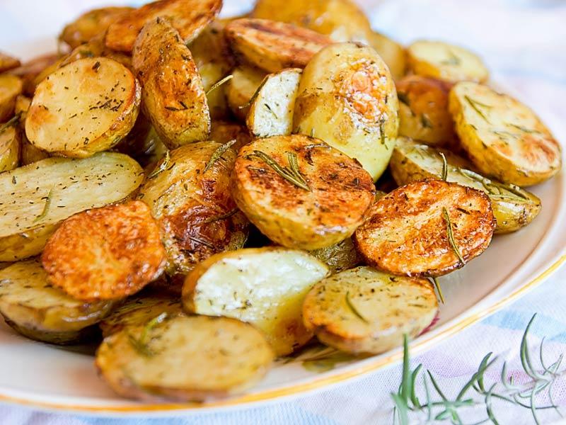Rosmarinkartoffeln der kochguide for Schnell einfach kochen