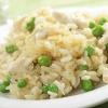 risotto-mit-huenerbrust-und-gruenen-erbsen