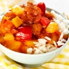 Süsssaures Schweinefleisch mit Ananas und Paprika