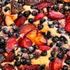 Heidelbeer Pflaumenkuchen