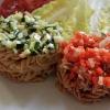Pasta aus Roten Linsen und Kichererbsen