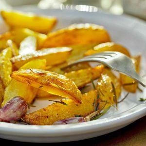 Leckere Kartoffelecken aus dem Ofen