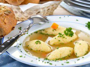 giessnockerln-suppe