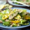Hähnchenbrust-Zucchini-Pfanne mit Quinoa
