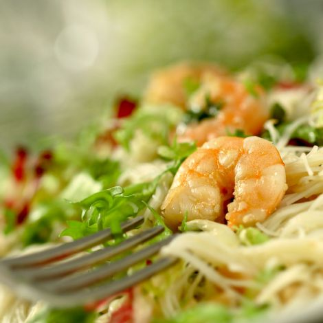 Shrimps Salat