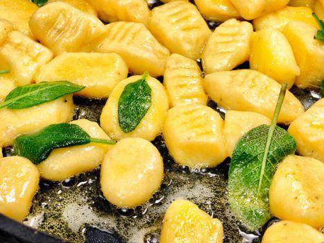 Gnocchi in Salbeibutter