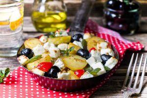 Bratkartoffeln mit griechischen Touch
