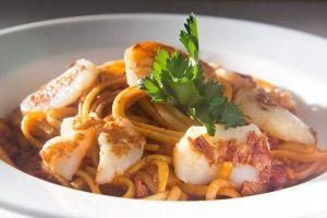 Spaghetti mit Jakobsmuscheln