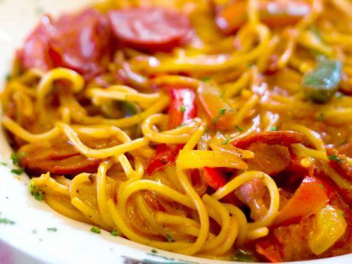 spaghetti-salami-pepperoni