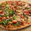Pizza quattro sectione