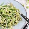 Tagliatelle mit Wildspargel und gruenen Bohnen