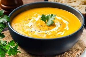 Apfel-Karotten-Suppe