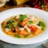 Bohnensuppe mit Gemüse - vegan