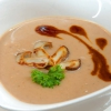 Maronensuppe mit Kräuterseitlingen