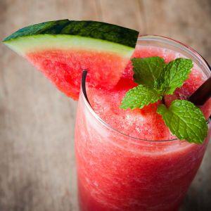 Erfrischender Wassermelonen Minz Zimt Smoothie