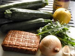 Zucchini Carbonara Zutaten